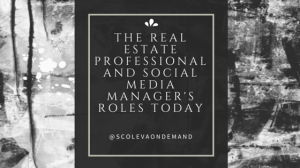The Real Estate Professional and Social
